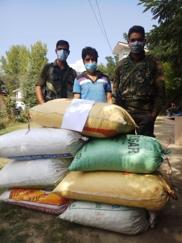 Drug peddler held along with 72 kg contraband in central Kashmir's Chadoora