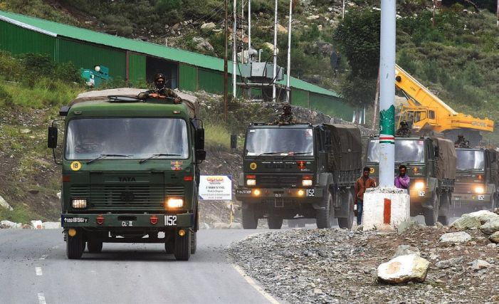 No let up in India-China border tensions