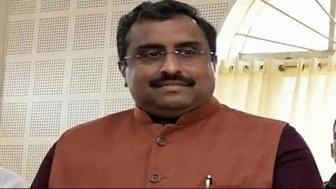 Ram Madhav replaced as Gen Secy in BJP reshuffle
