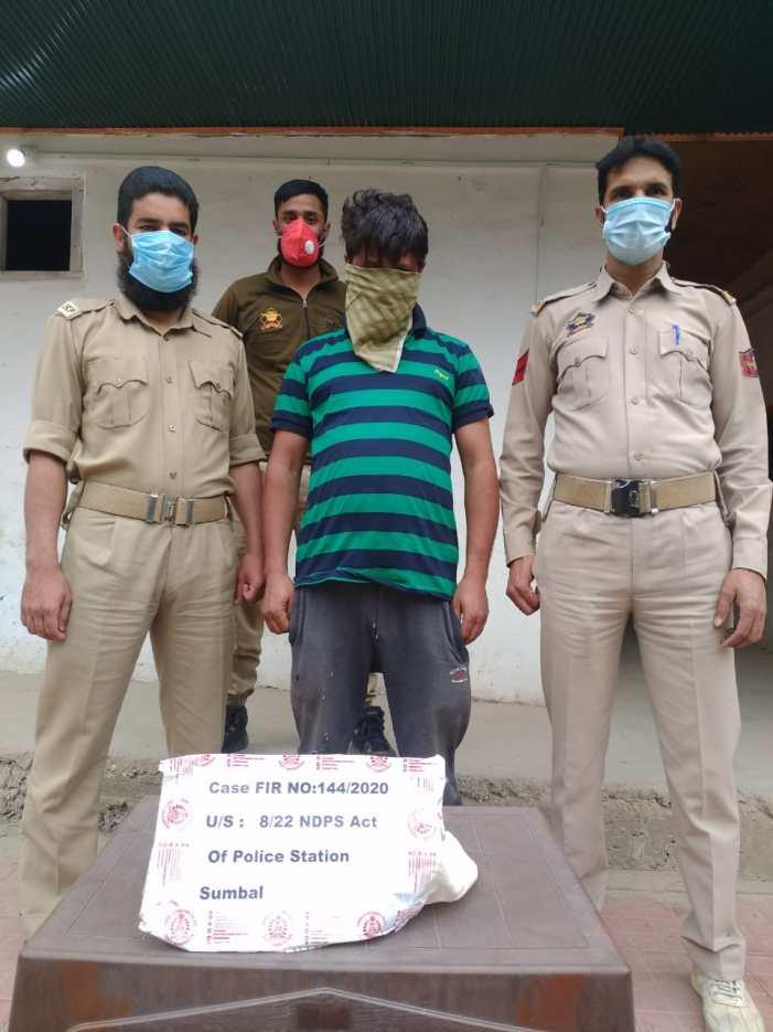 Drug peddler held in Bandipora