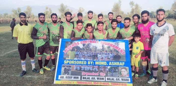 Legends Football Tournament: Ali Sports Hajin cruises into final's