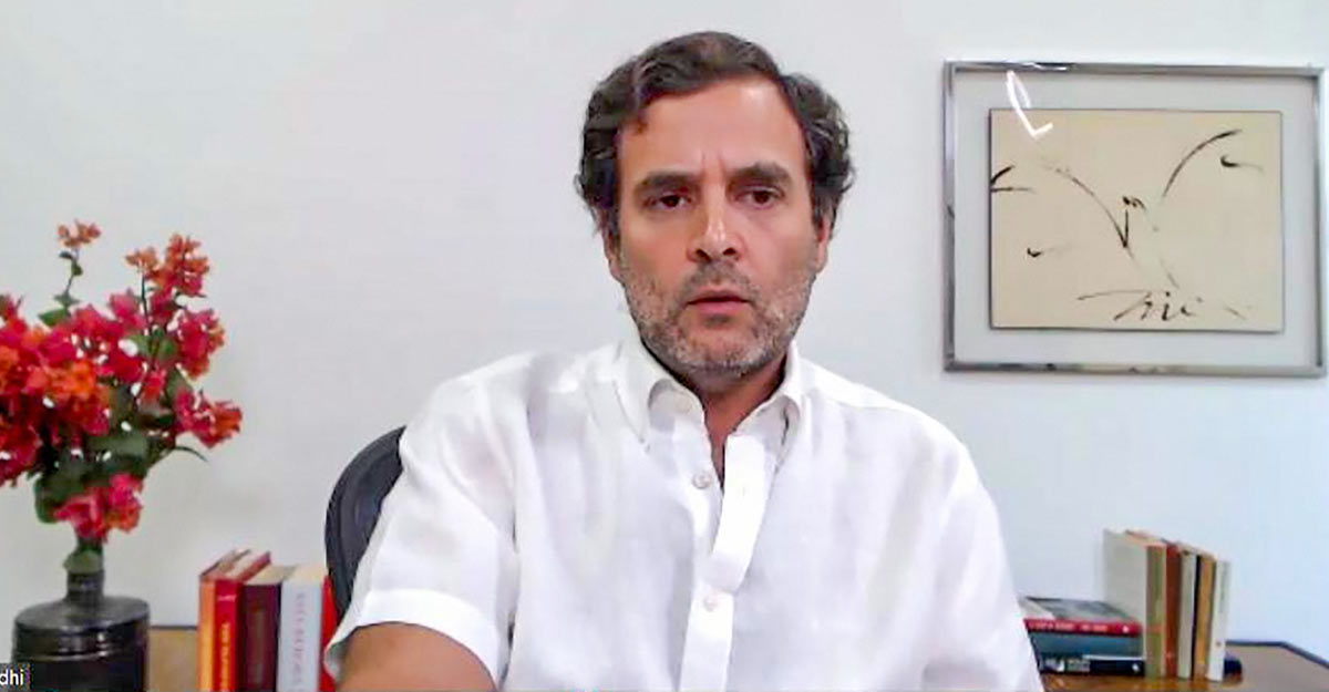 Cong steps up attack; Rahul accuses govt of working for development of crony capitalists – Kashmir Reader