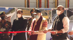 PM Modi inaugurates world's longest highway tunnel in Rohtang