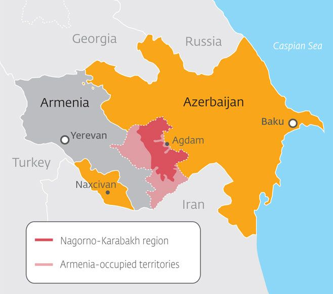 What Kashmir is to India and Pakistan, Artsakh is to Armenia and Azerbaijan