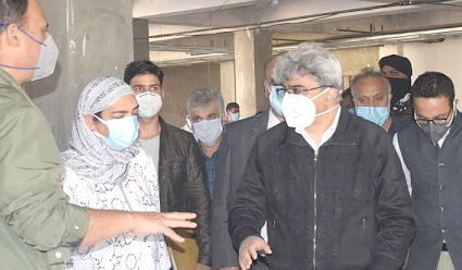 Vaccination to start very soon across JK: Atal Dulloo
