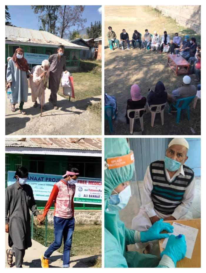J&K Yateem Foundation holds free medical camp in Bandipora