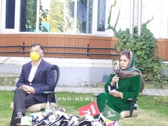 Won't raise any other flag till J&K's special status is restored: Mehbooba Mufti