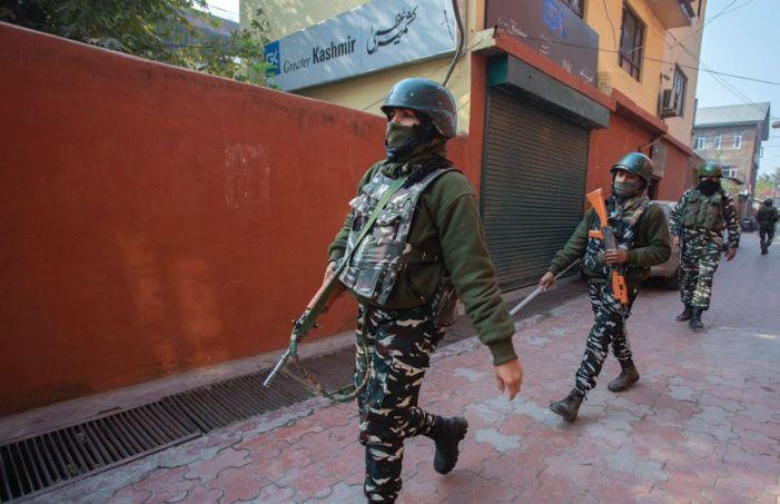 NIA raids NGOs, newspaper office in Kashmir