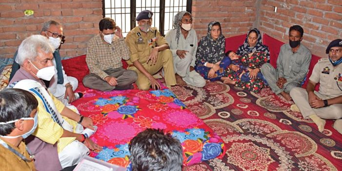 Shopian fake encounter: LG reaches out to families of Rajouri labourers, promises justice