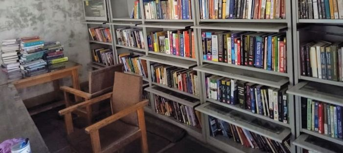 Shopian's district library wanders from one rented building to another