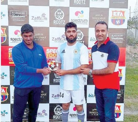 Spectrum Football Tournament: Alamdar FC downs Lalnagar FC by a solitary goal