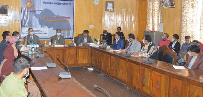 KU VC inaugurates mental health awareness programme