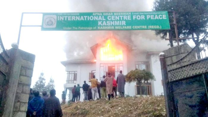 Fire breaks out in Budgam orphanage, boarders evacuated: Police
