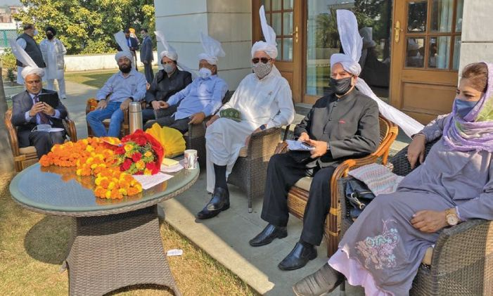 In maiden Jammu visit, dozens of delegations meet Alliance