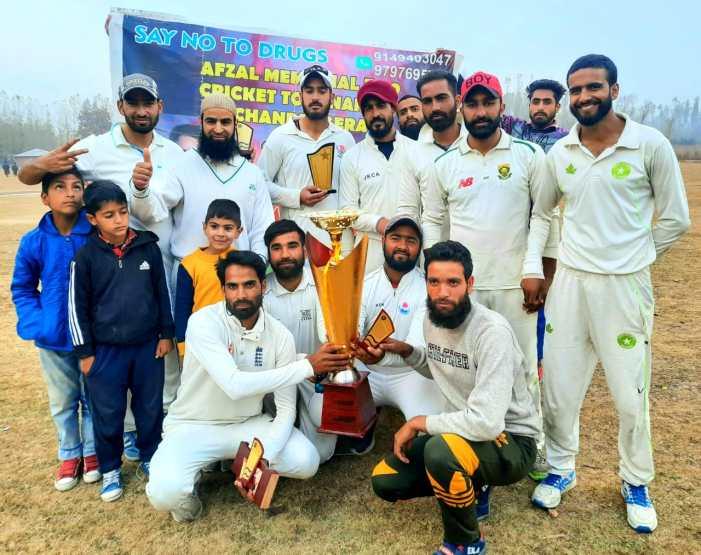 Hyderia XI Tulmulla lifts 4th Afzal Memorial Cricket Tournament