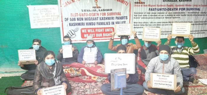 KPSS again starts fast-unto-death, calls for implementation of demands