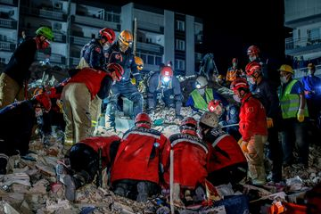 70-year-old pulled alive as Turkey quake death toll hits 51