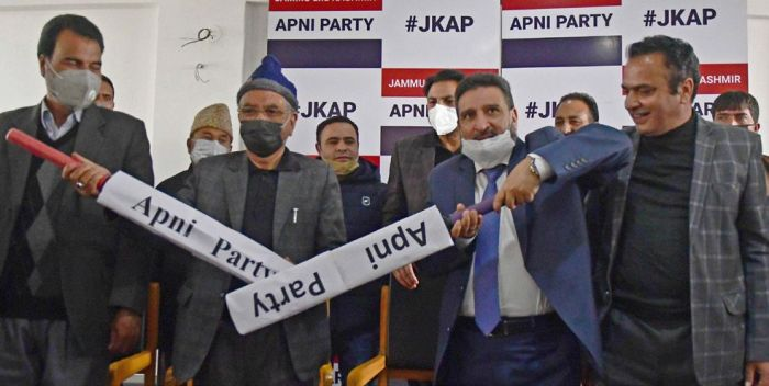 Apni Party says it has support of independents and others to head 6-7 DDCs in J&K