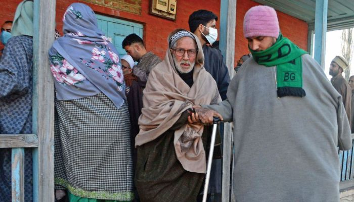 Over 57% polling in 7th phase of DDC elections: SEC