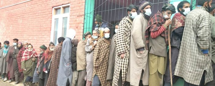 50 percent turnout in phase IV of J&K DDC polls