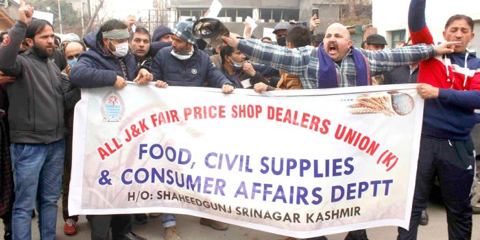 Fair price shopkeepers union want revocation of advance payment order by department