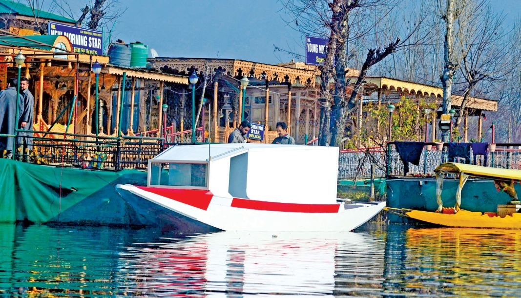 For the first time, an ambulance boat has been introduced in Dal Lake.