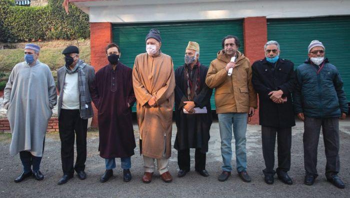 Free our leaders now, emboldened Gupkar Alliance demands