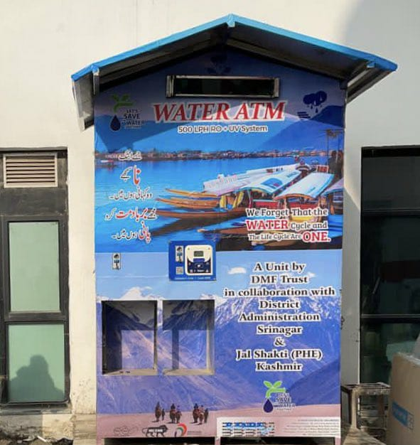 In a first, authorities install water ATM at Super Speciality Hospital in Srinagar