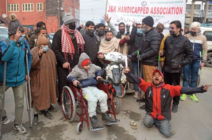 International Day of Disabled Persons: Handicapped people rue govt apathy as Disability Act yet to be implemented in J&K