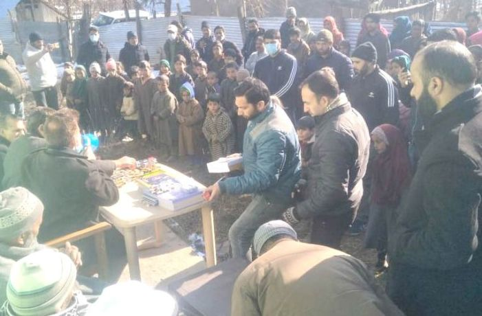 Mega enrollment drive organised at Anantnag