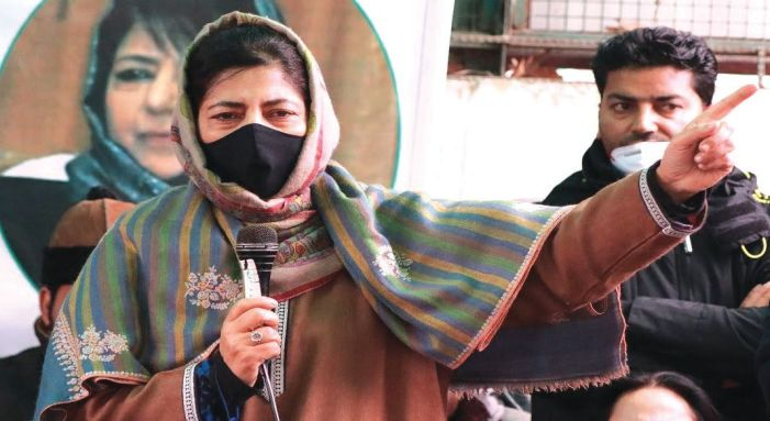 Mehbooba re-elected as PDP president