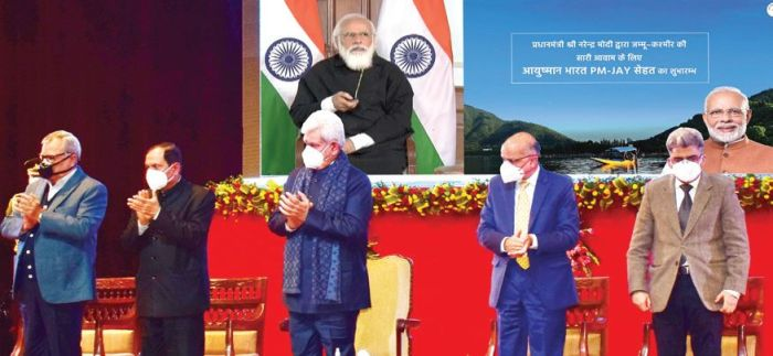 PM launches Ayushman Bharat scheme to extend health insurance cover to all J&K residents