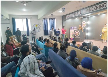 SSM college organises awareness programme on curbing traffic hazards