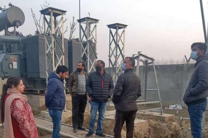 Sanctioned under PMDP, Pampore receiving station caught up in delays