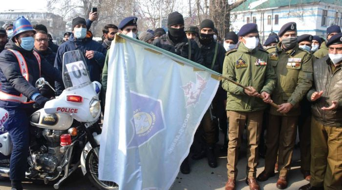 32nd National Road Safety month kick started in Kashmir