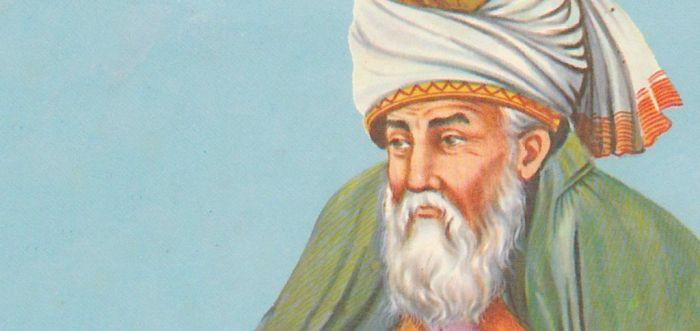 Rumi's words are echoes of deep silences