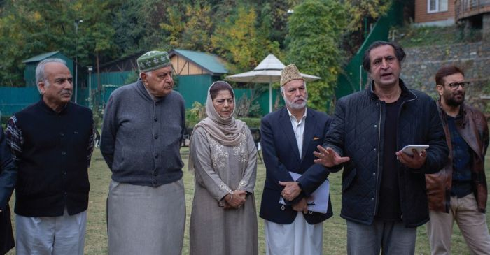 The coalition cracks, quickly, in Kashmir