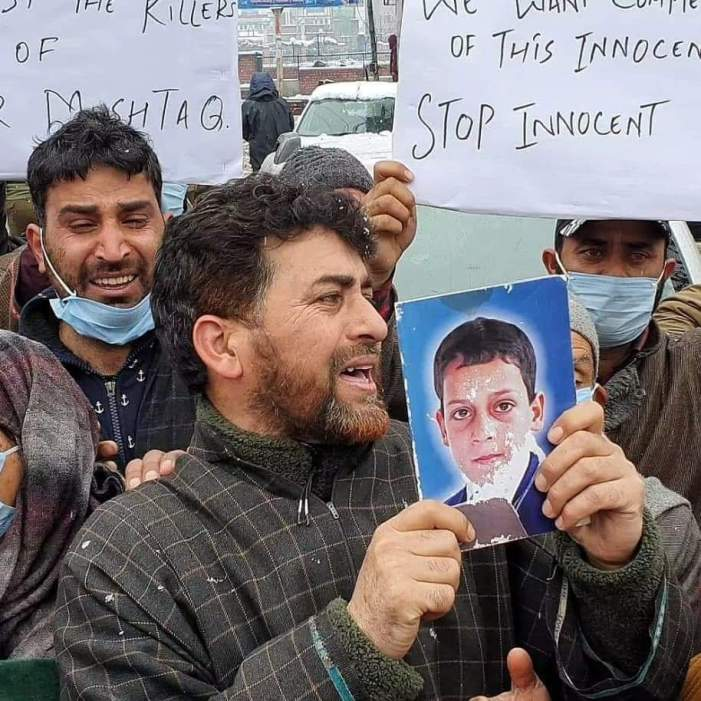 Lawaypora 'encounter': Slain trio's families stage protest, demand their bodies
