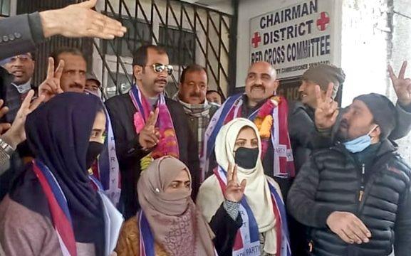 Apni Party wins DDC chairman post in Srinagar, Shopian