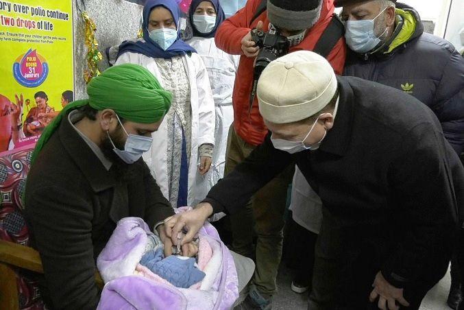 Imunization of children held across Kashmir