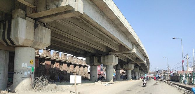 Kashmir's 'Rigid Concrete Pavement' survives harsh weather conditions