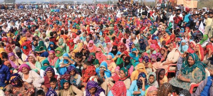 Thousands at toll plazas in Haryana, highways blocked