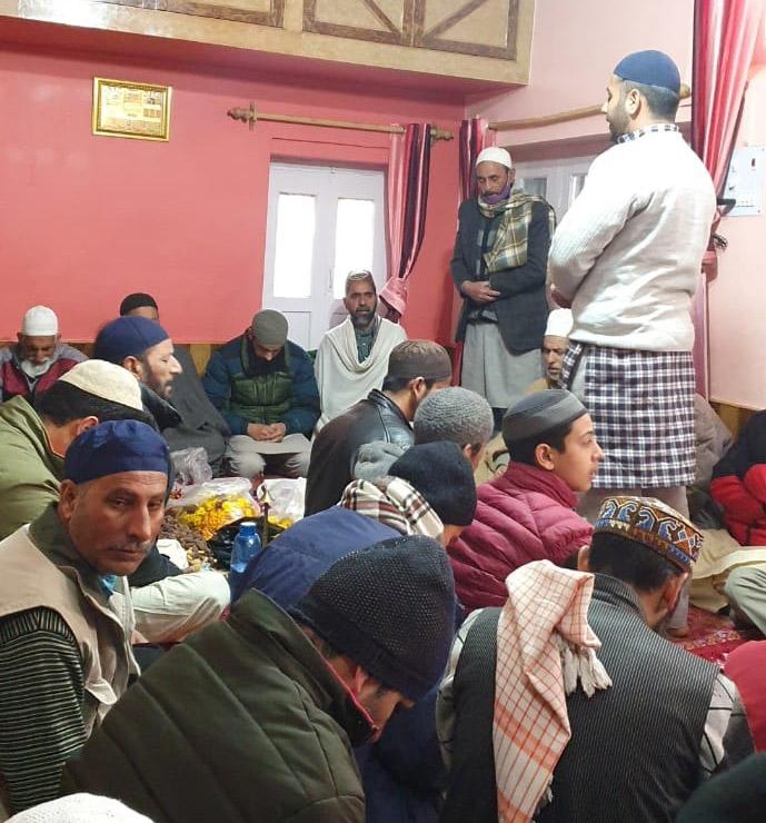 Urs of Hazrat Khawaja Moinuddin Chishti (RA) observed in Kishtwar