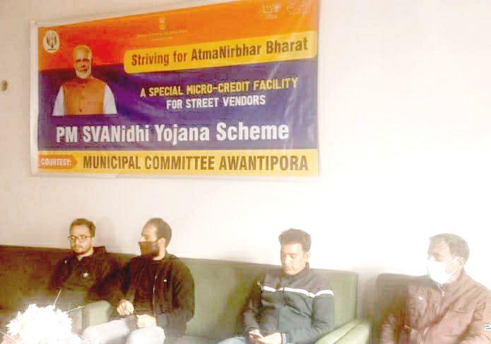 MC Awantipora holds awareness programme on PM Svanidi Yojna