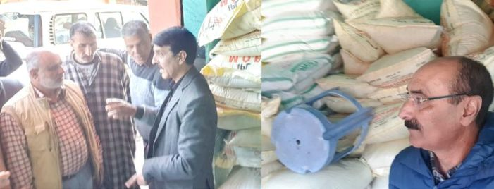 Raids by Agri Dept Kashmir leads to recovery of 5 tonnes of misbranded fungicide
