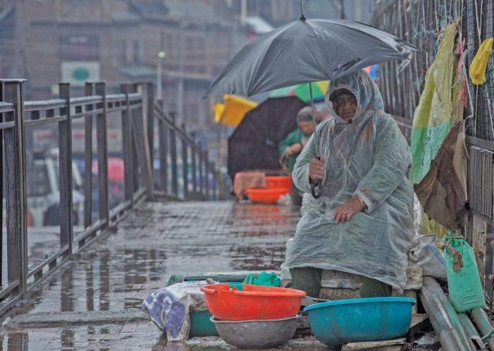 Rains lash Valley, more to come today
