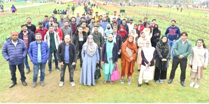 NIT Srinagar organizes academic field trip for students
