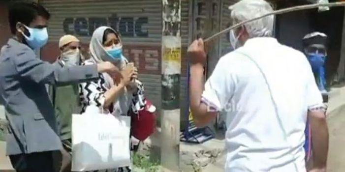 ADC Baramulla beats up lockdown violators, video goes viral