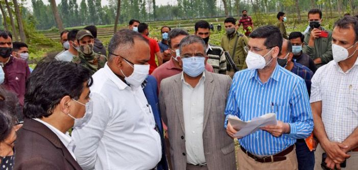 Div Com chairs SSCL meeting for Development of Srinagar Riverfront Phase-I