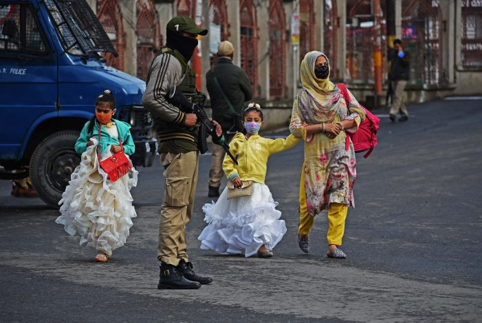 Security brass meets to review situation in Kashmir